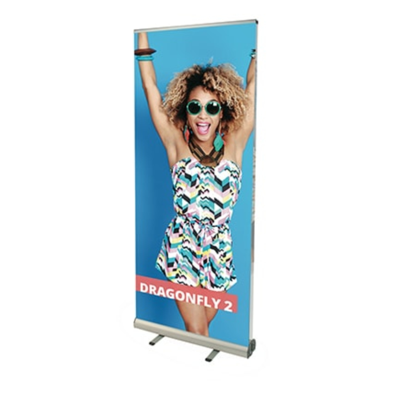 Dragonfly Roller Banner Stand