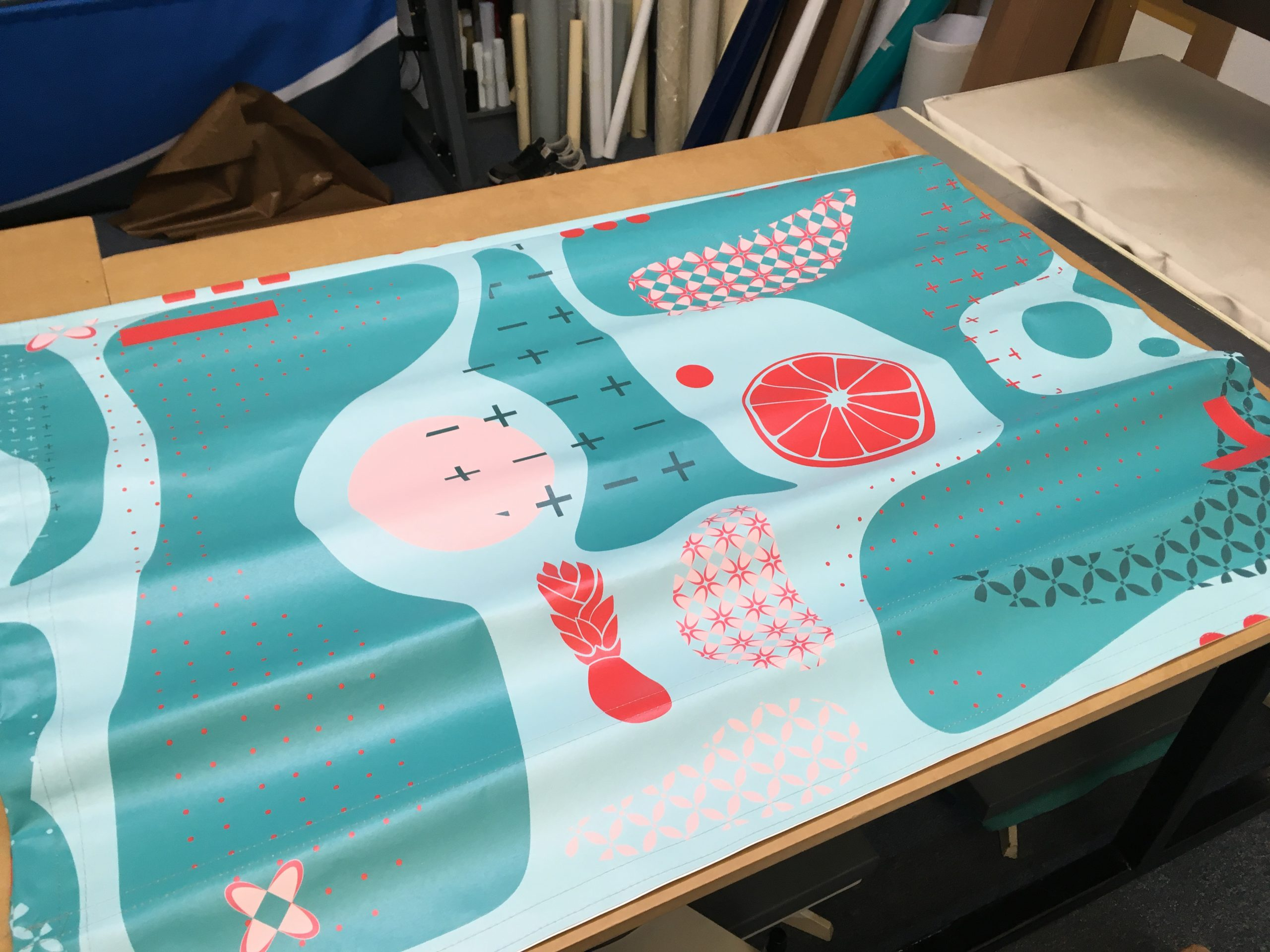 Double Sided Full Colour Cafe Banner
