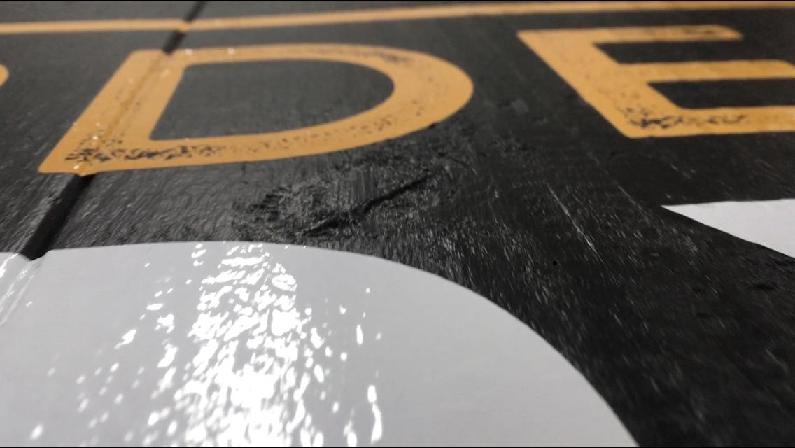 Vinyl for Rough Surfaces