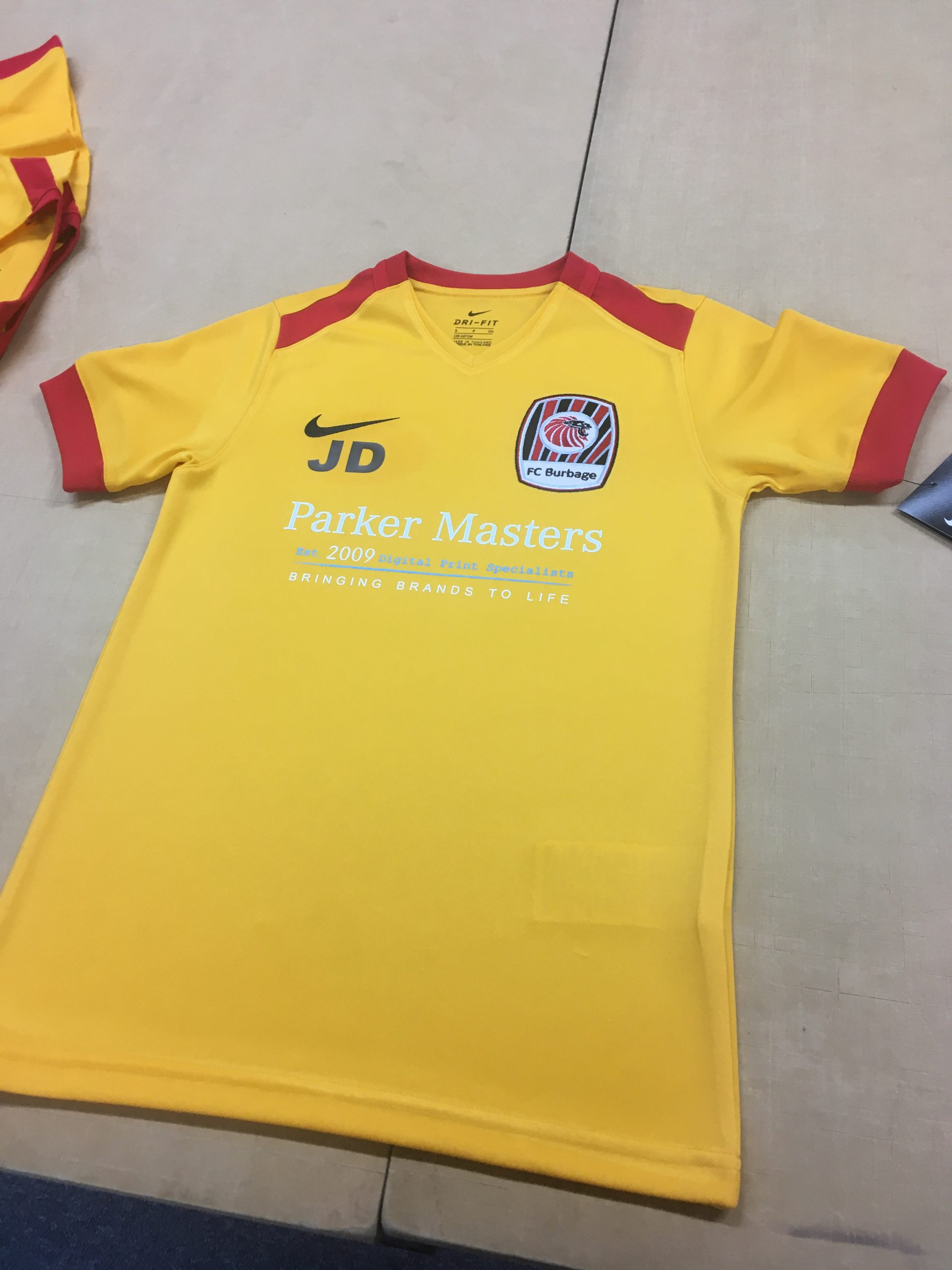 Printed and Embroidered Football Kits